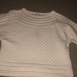 Gap padded crew sweatshirt.